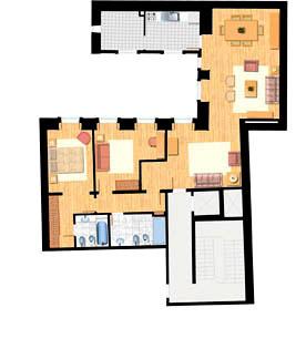 Apartamento T2 - 140m
