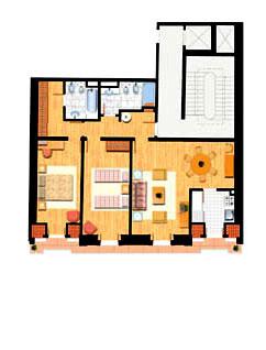 Apartamento T2 - 98m